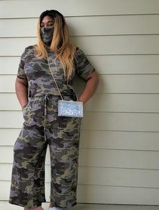 Camouflage Queen Jumpsuit